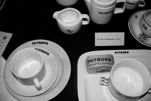 Mitropa Geschirr  – Rationell